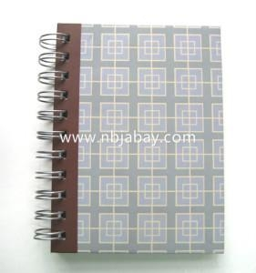 China Promotional bound spiral notebook on sale