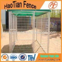 China 4x8x6ft Galvanized Welded Outdoor Dog Run Kennel on sale