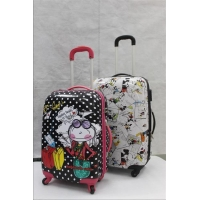 China Abs Luggage Printed on sale