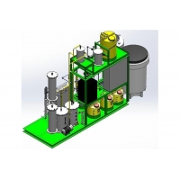 Membrane Electrolysis chlorine gas, sodium hypochlorite generator