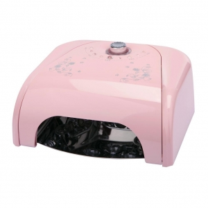 China Belle Pink 36W LED Lamp Nail Dryer with Timer 10s~90s for Nail Polish 220V UK Plug on sale