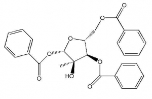 China 2-C-Methyl-1 3 5-tri-O-benzoyl-alpha-D-ribofuranoside on sale