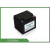 China Deep Cycle Lithium Battery 12v 50ah For Storage Energy / Car / Solar Light for sale