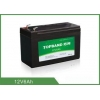 China Light Weight Deep Cycle Lithium Battery 12V 6Ah With Black Plastic Case for sale