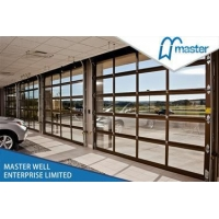 CLEAR VIEW POLY CARBONATE ALUMINUM SECTIONAL DOOR