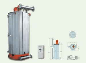 China Vertical Oil (gas)-fired Heating Boiler on sale