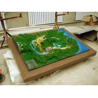 China Geographical landscape model/Sand table model&Museum model on sale