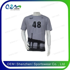 China Custom sublimated soccer jerseys with number on sale