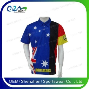 China Polo Wholesale cheap printed polo shirts for men on sale