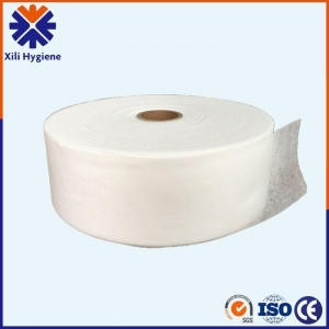 China Air-through Hydrophobic Non Woven Fabric For Making Disposable Adult Baby Diapers Materials on sale