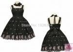 China Support Dance Women Cotton Bow Lace Sweet Lolita Dress L11 on sale
