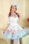 China Support Dance Women Cotton Embroidery Sweet Lolita Blouses L18 on sale