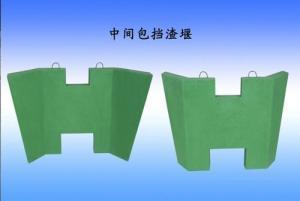 China Small Square Billet Slag Blocking Wall on sale