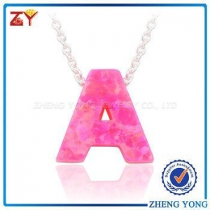 China Necklace jewelry 2017, Fashion jewelry 2017, Christmas jewellery opal necklace on sale