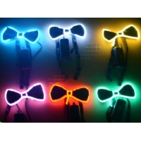 Light Up EL Bow Tie