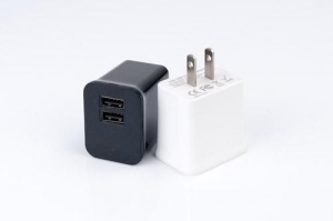 China C2US Dual USB AC charger on sale