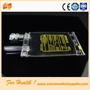 China Iv fluid plastic pvc infusion bags on sale