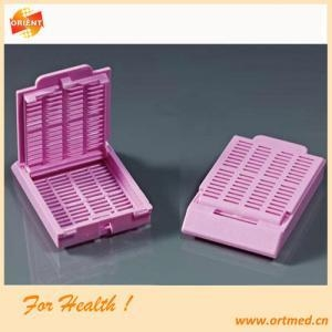 China Plastic Tissue Embedding Cassette For Lab Test on sale