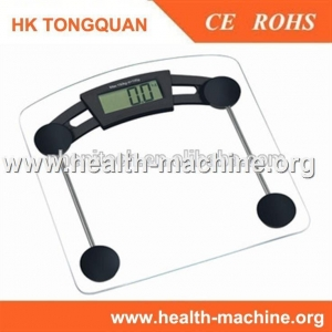 China Electronic bathroom scales hot sale item with clear glass on sale