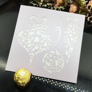 China Superior quality fancy wedding invitations laser cut on sale
