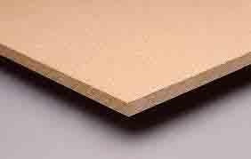 China Double Rivet MDF Wood Racking on sale