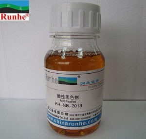 China Concentrated Formaldehyde-free Fixing Agent RH-NB-2013 on sale