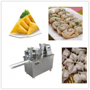 China High Speed Automatic Samosa Maker Machine / Dumpling Maker Machine on sale