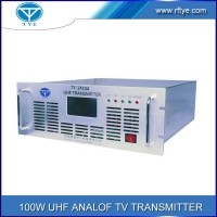 China 100W UHF Analog Transmitter on sale