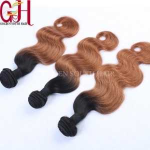 China Two Tone Brazilian Weave Hair on sale