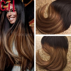 China Ombre Tape Hair Extensions on sale