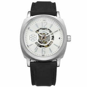 China T-Winner New style Wrist Skeleton Mechanical Watch Rubber Band Man Watch Automatic on sale