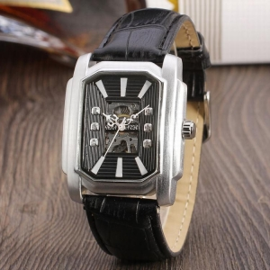 China Winner Unique China Supplier Skeleton Automatic Mechanical Hand Watches For Men on sale