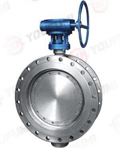 China Stainless Steel Valves Flange Type High Performance Butterfly Valve on sale