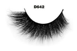 China 100 Siberian Mink Lashes With High-quality Luxury Mink Lashes D642 on sale