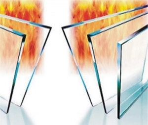 China New Style Safety 30M Fireproof Glass for building with low price on sale