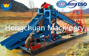 China Gold Dredge 100T/h on sale