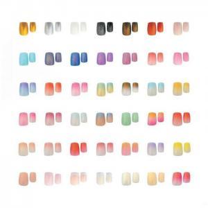China Everlastingbeauty wholesale free sample nail art glitter acrylic nail tips on sale