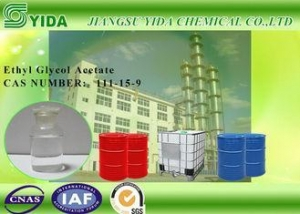 China Industrial Solvent Ethyl Glycol Acetate / 2-Ethoxyethyl Acetate Cas Number 111-15-9 on sale