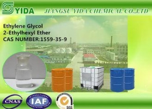 China Colorless Solvent Ethylene Glycol 2-Ethylhexyl Ether Cas Number 1559-36-0 on sale