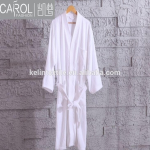 China Terry Towel Breathable Quick Dry Thermal Plus Size Waffle Collar Hotel Bathrobe on sale