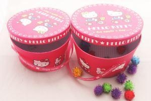 China Round Box Customized Necklace jewelry gift box candy package box on sale