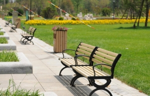 China WPC Bench-new environmentally friendly bench materials on sale