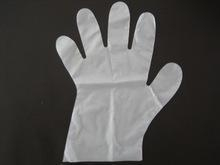 China one off pe gloves/disposable pe glove on sale