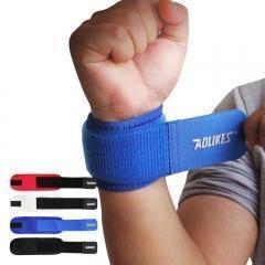 China Sports safety weight lifting wrist wraps on sale