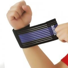 China Weight lifting elastic wrist wraps on sale