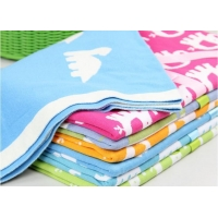 China 100% Cotton Custom Design Baby Blanket Knitted Throw on sale