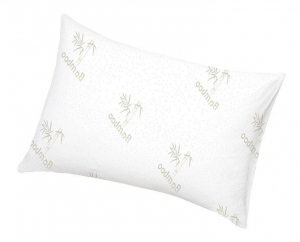 China Bamboo Pillow Shredded Memory Foam Bed Rest Pillow For 5-Star Hotel Comfort on sale