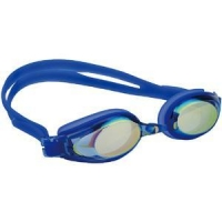 China Prescription Rainbow Mirror Coated Lens Optical Swim Goggles on sale