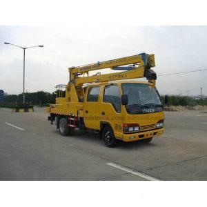 China 16m Isuzu Aerial Platform Truck with Hoisting Hook on sale