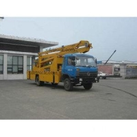 China 24m Dongfeng Mobile Aerial Platform Working Work Truck on sale